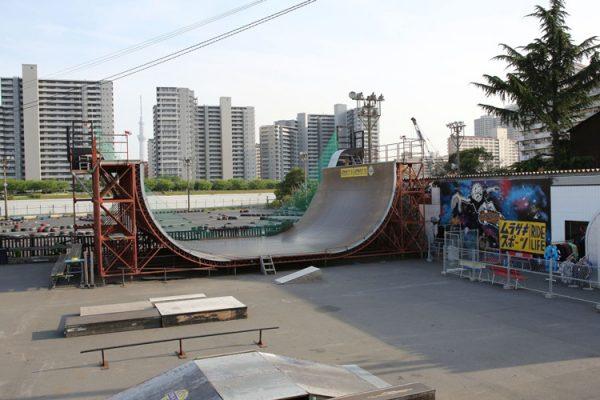 ムラサキスポーツ MURASAKI PARK TOKYO【スケートパーク東京】