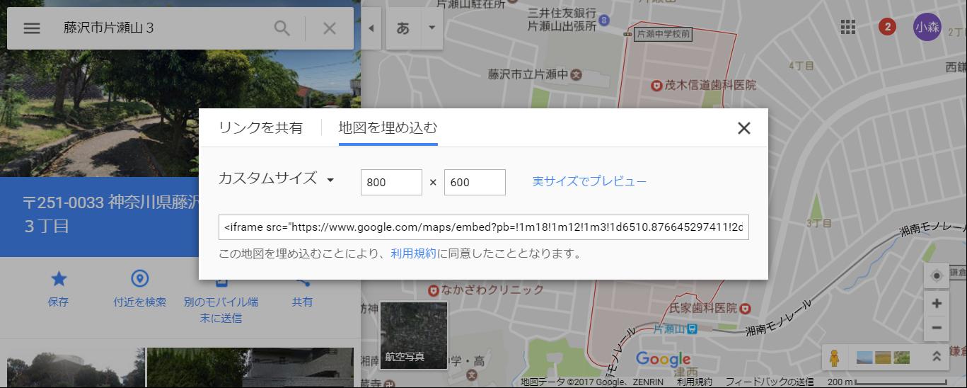 - Google マップ_ - カスタム